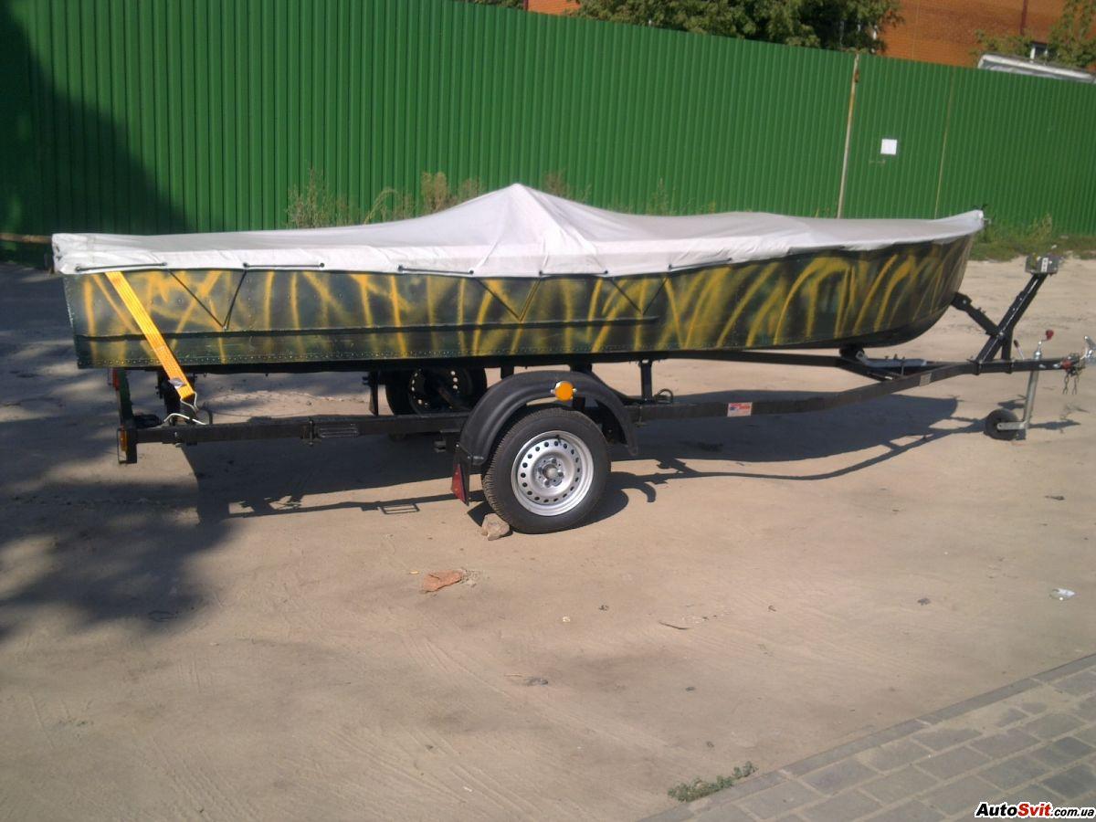 Размеры прицепа для лодки пвх 370 своими руками чертежи размеры