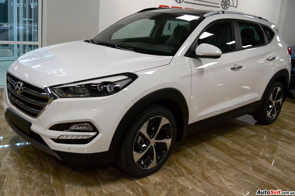 Hyundai Tucson 1.6 TURBO AWD TOP, фото #1