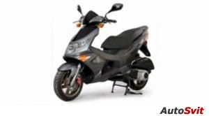 Genuine Scooter Co.  Blur SS 220i 2010