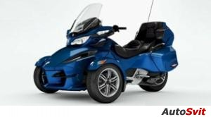 Can-Am  Spyder Roadster RT Audio And Convenience 2012